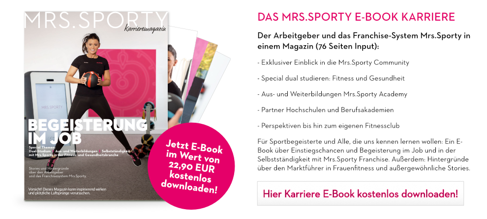 Das Mrs.Sporty E-Book Karriere