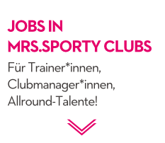 Jobs in unseren Clubs